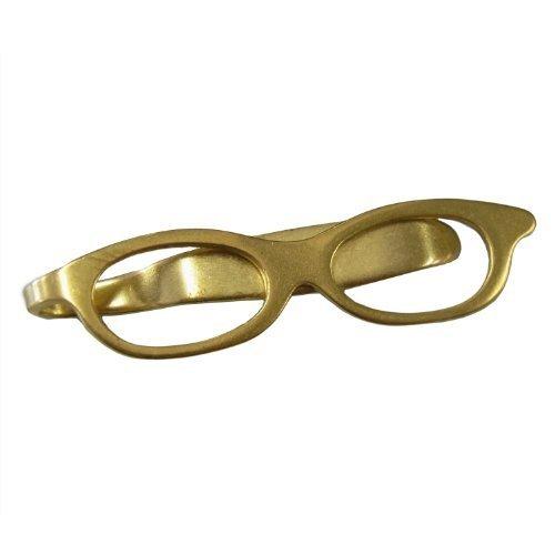 (ビスポーク) BESPOKE BM001真鍮製 めがねモチーフのブックマーカー 【Sサイズ】 アクセサリー アンティーク しおり [国産]