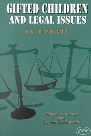 Gifted Children and Legal Issues: An Update