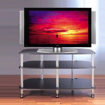 Image of Black VTI AR503 - AR Series TV Stand (AR503B)