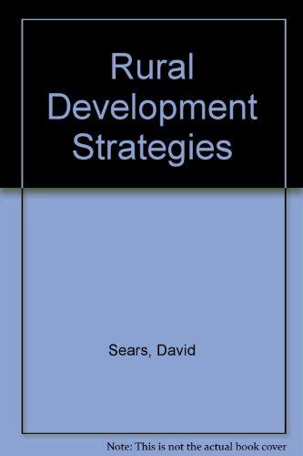 Rural Development Strategies