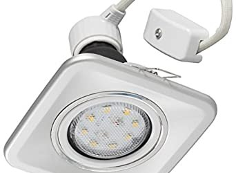 Havells Innova Grid Sq Swivel 4-Watt LED Lamp