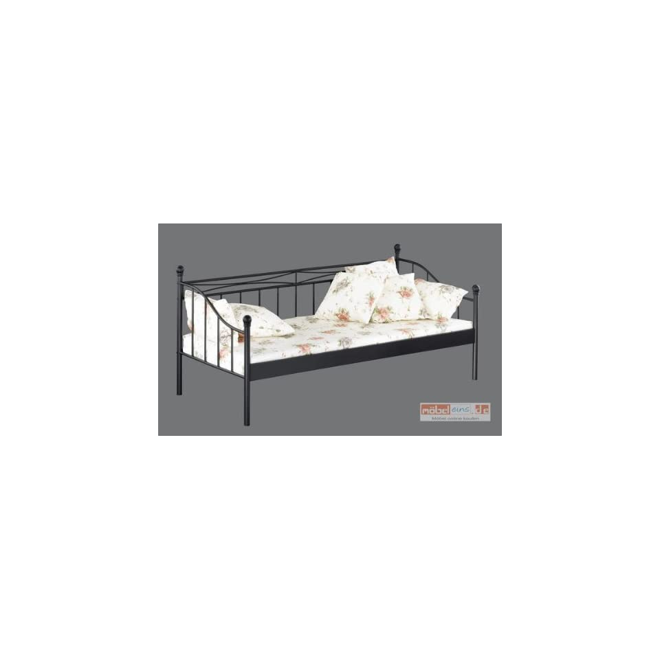 Metallbett Schwarz 90x200 The Cool Designs