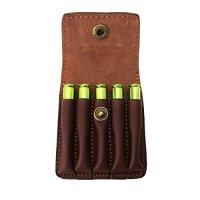 Tourbon Hunting Genuine Leather Rifle Cartridge Holder 5 ...