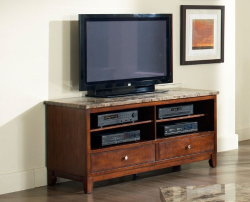 Buy Low Price Steve Silver Company Steve Silver Montibello Marble TV - Abt tv stands