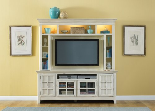 Image of Entertainment TV Stand by Liberty - Vintage White Finish (840-TV00) (840-TV00)