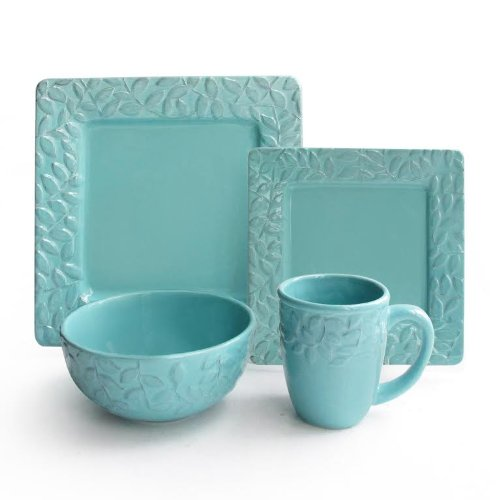 Teal Colored Dinnerware Sets