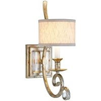 Candice Olson Lighting Lucy Single-Arm Wall Sconce, Gold