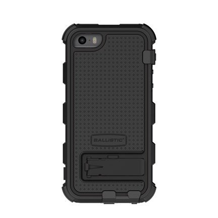 Ballistic-Hard-Core-Series-Case-for-iPhone-55S-Retail-Packaging-Black