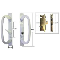 Sliding Glass Patio Door Handle Set with Mortise Lock ...