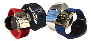 SnuG-Watchbands-Moto360-22mm-Replacement-Watch-Band-for-the-larger-46mm-2nd-Gen-Moto-360-Quick-Release-with-Polished-Silver-Stainless-Steel-Deployant-Buckle-8-Color-Choices