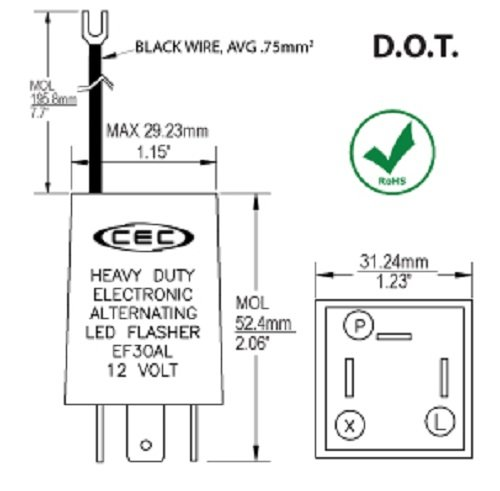 diy turn signal flasher circuit