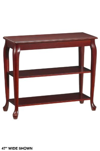 Image of Console Table Without Drawers 2-shelf 47