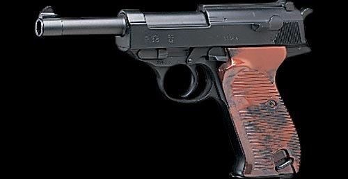 ワルサーP38 エアーハンドガン 6mmBB弾使用 エアガン