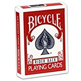 Red Bicycle Invisible Deck