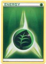 Pokemon Grass Energy Card
