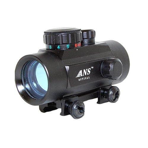 ANS Optical 大口径タイプ 5段階調光 レッド&グリーン ドット  ダットサイト