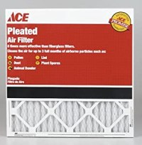 Ace Pleated Furnace Air Filter - Replacement Furnace ...