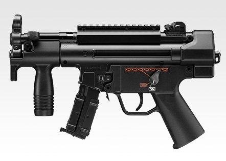 東京マルイ ハイサイクル電動ガン H&K MP5K (クルツ) HC ニッケルフルセット (本体+バッテリー+充電器)