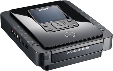 Sony DVDirect VRDMC10 Stand Alone DVD Recorder/Player (Black)