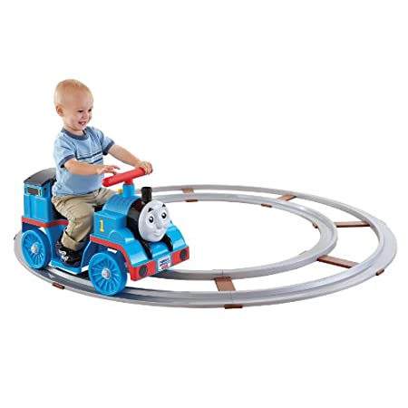 All Aboard for Fun! Little engines can do big things! The Fisher-Price Thomas with Track lets kids ride right in your living room. Fun styling, Thomas phrases and sounds, and toddler-friendly features will have them hopping aboard every chance they...