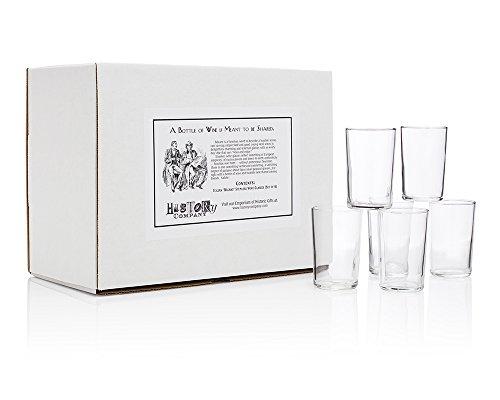 Italianquotbacaroquot Stemless Wine Glasses Gift Box Set Of 6