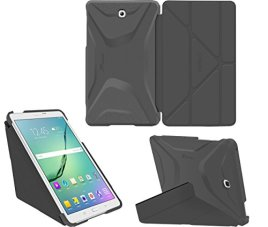 Galaxy-Tab-S2-97-Case-Samsung-Galaxy-Tab-S2-97-case-rooCASE-Origami-Slim-Shell-Lightweight-Tablet-Stand-Folio-Smart-Cover-SM-T810-SM-T815-Gray