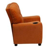 Flash Furniture BT-7950-KID-MIC-ORG-GG Contemporary Orange ...
