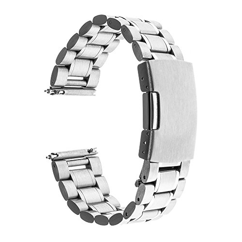 TRUMiRR-22mm-Quick-Release-Watch-Band-Stainless-Steel-Strap-Bracelet-for-Moto-360-2-46mm-2015Gear-2-R380-R381-R382-Pebble-Time-SteelAsus-Zenwatch-1-2-22mm-LG-G-Watch-W100-W110-W150-Silver