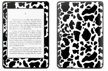 Amazon Kindle Paperwhite スキンシール アニマル ウシ柄 (No.016-kpw)