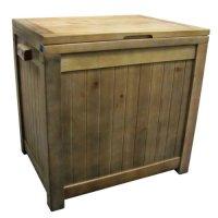 Eucalyptus Wood Box Outdoor Patio Cooler - FindGift.com