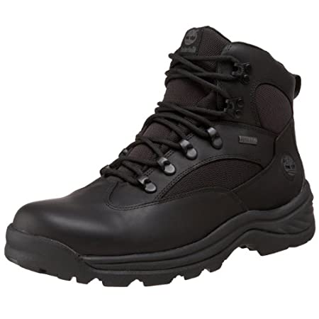 Crafted with a full-grain leather upper that's protected by a GORE-TEX® waterproof membrane, the Timberland® Chocorua men's hiking boot is an ideal fit for your outdoor adventures. The dual-density EVA footbed provides lightweight cushioning, and a t...