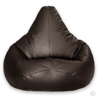 Hi-BagZ Gaming Beanbag Faux Leather BROWN
