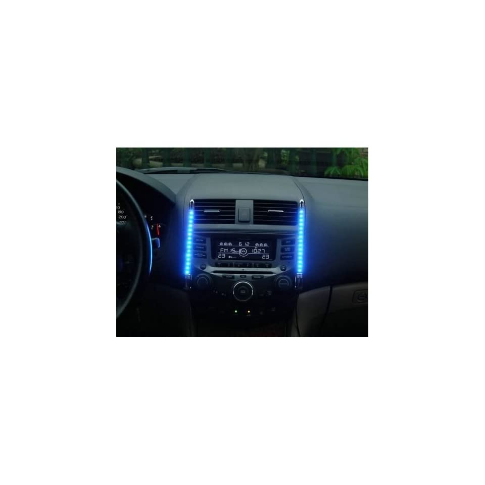 Led Beleuchtung Auto Innenraum Auto Innenraum Led Beleuchtung Mit Musik Sensor Blau Auto On Popscreen