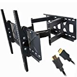 "41XhthwHAlL. SL160  Top 10 TV Mounts for December 17th 2011   Featuring : #9: VideoSecu Tilt TV Wall Mount Bracket for Most 32""  65"" LED LCD Plasma TV Flat Panel Screen Free HDMI Cable and Magnetic Bubble Level MF607B 1QH"