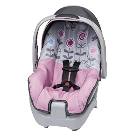 Specifically for infants convenience for you and comfort for baby. The Evenflo Nurture Infant Car Seat provides comfort for your child and exclusive convenience for the ultimate value in child restraints. The Nurture Infant Car Seat features an ergon...