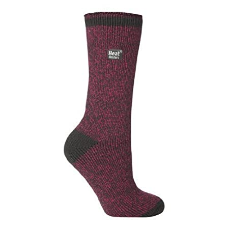 Ladies Heat Holders in a Marl Fleck Design To fit shoe size 4-8 uk, 37-42 Eur, 6.5-10.5 usa These come to mid calf height, ideal for wearing inside boots and willies, guaranteed to keep your feet toasty warm. We have these in three other colours, ple...