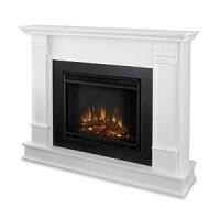 Amazon.com : Silverton Electric Fireplace Finish: White ...