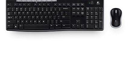 Logitech Wireless mk270r Keyboard and Mouse Set