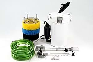 Amazon.com : Super Quiet 6W 400L/H Aquarium Fish Tank External Filter