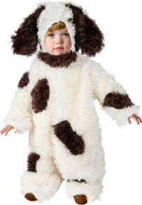 Toddler Puppy Dog Costume (Size: 2T) - halloween costumes