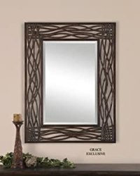 Amazon.com: Large WOVEN SEA GRASS Wall Mirror: Home & Kitchen