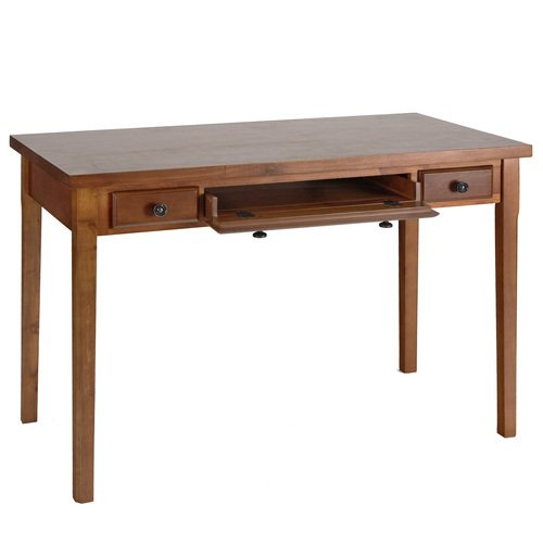 Picture of Comfortable Atwood Computer Desk In Mahogany (B002DR5TMW) (Computer Desks)