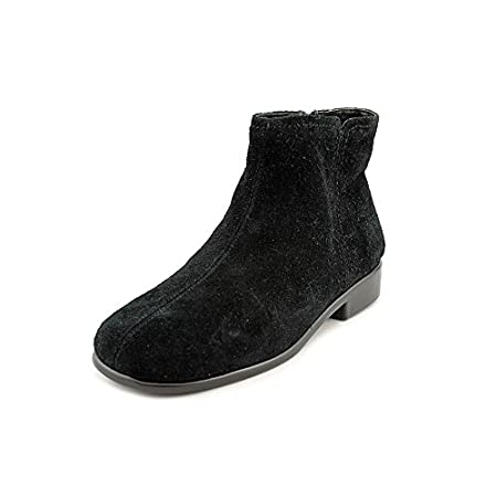 For a versatile look and walk-on-air comfort, you'll love the Aerosoles Women's Duble Trouble Ankle Boot. The breathable leather or suede upper features a side zipper for easy on and off, and the low heel gives you a little lift without sacrificing s...