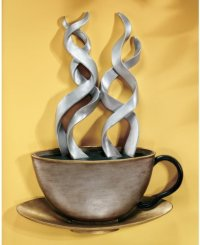 Coffee Metal Wall Art Decor