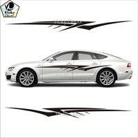 Buy Vicky Decor Car Sticker Side CRS025 Full Body Vinyl ...