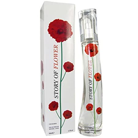 LADIES PERFUME STORY OF FLOWER RED FRAGRANCE 50 ML TYPE: EAU DE PARFUME SIZE: 50ML COMES IN A VERY PRETTY RED FLOWER PRESENTED BOX. BOTTLE VAPORISATEUR NATURAL SPRAY A VERY POPULAR BOTTLE AND SCENT THAT YOU'LL LOVE!! A PERFECT GIFT OR FOR OWN USE MAD...