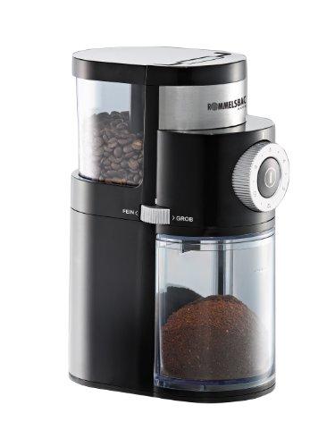 Rommelsbacher EKM 200 mit Scheibenmahlwerk - Kaffeemühle - 110 Watt - schwarz