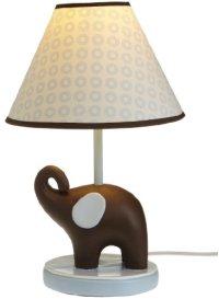 Carter s Blue Elephant Lamp Base And Shade Blue Choc ...