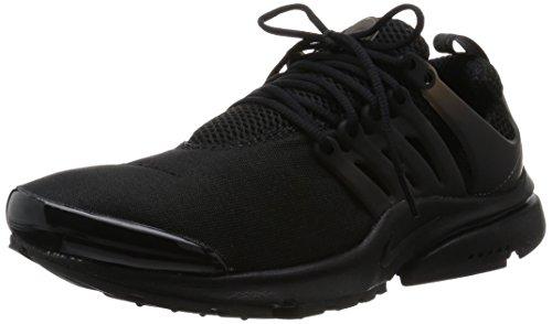 Nike Air Presto Laufschuhe Sneaker, Schwarz,