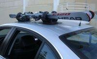 Eton Magnetic & Suction Ski Rack (654367013724)